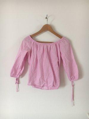 FB Sister Top monospalla bianco-rosa