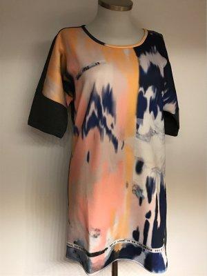 Vera Moda T-shirt jurk veelkleurig