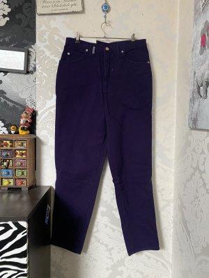 Super tolle Original 90er Jahre True Vintage High waist  Jeans Lila W:32 L:28