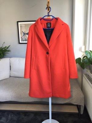 dept. 19 Wollen jas oranje-blauw