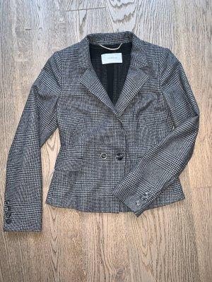 Super trendy Karo Tweed Blazer von der Trendmarke MARELLA  neuwertig Gr. 34 anthrazit grau schwarz