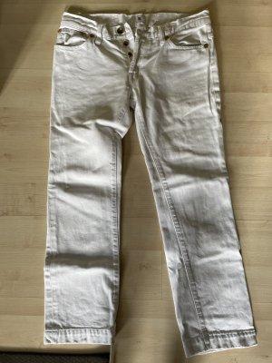 Jeans 7/8 blanc