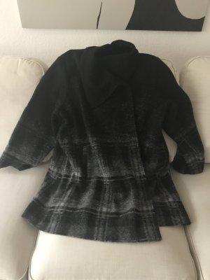 Adrienne Vittadini Wool Jacket black-anthracite