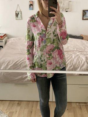 Super weiche Bluse im Blumen-Design
