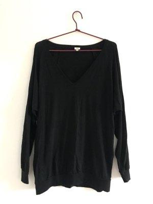 Super weicher V-Ausschnitt-Sweater von WILFRED mit coolen Naht-Details