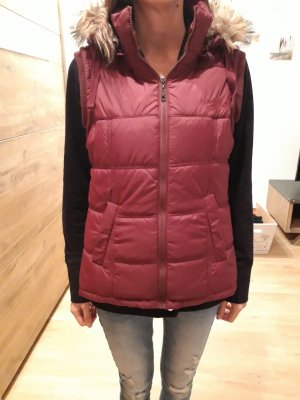 Urban Surface Down Vest bordeaux