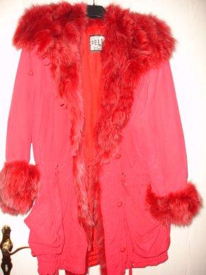 Axel Delikat Berlin Winterjack rood Polyester