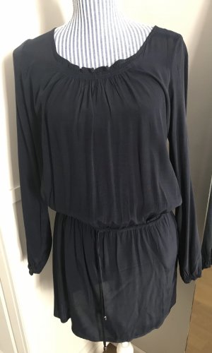 Superbequemes & schickes Sommerkleid dunkelblau