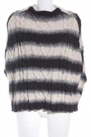 Superbugs Poncho Streifenmuster Casual-Look