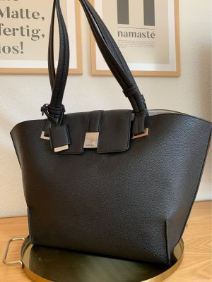 Comma Shopper black-silver-colored