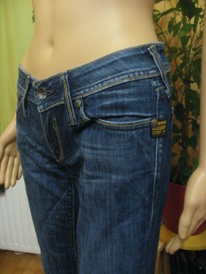 Supercoole GSTAR-RAW Hüft-Jeans.. straight.. Größe DE 34/36, W27/28