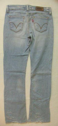 "Supercoole Vintage used/destroyed Hüft-Jeans von LEVIS ""572"" bootcut..Größe W28/L32, DE 36"