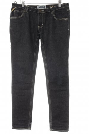 Superdry 7/8 Jeans dunkelgrau Casual-Look