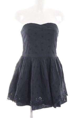 Superdry Bandeau Dress blue elegant