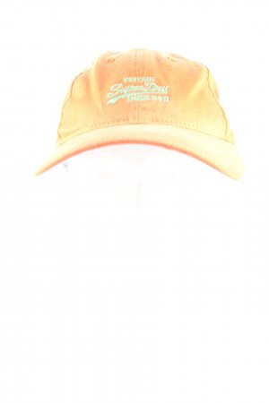 Superdry Casquette de baseball orange clair lettrage imprimé