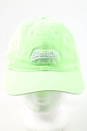 Superdry Berretto da baseball verde stile casual