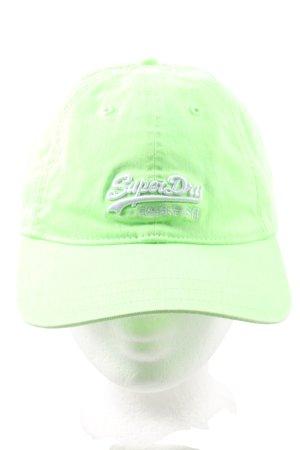 Superdry Basecap grün Casual-Look