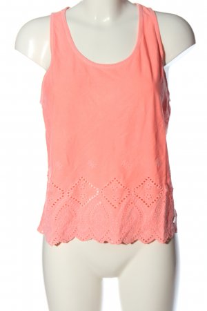 Superdry Basic topje roze casual uitstraling