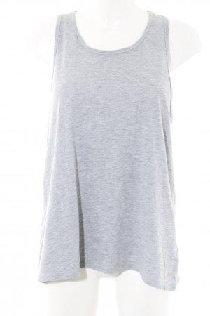 Superdry Basic Top light grey flecked casual look