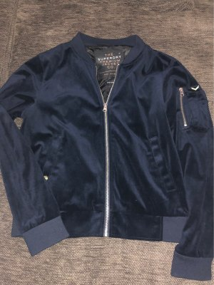Superdry Giacca bomber blu scuro