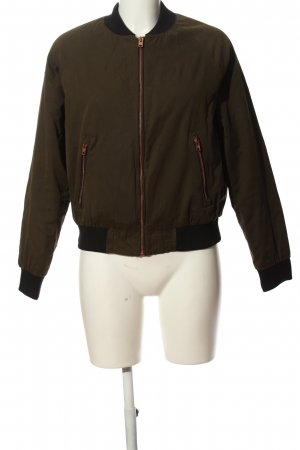 Superdry Giacca bomber cachi-nero stile casual