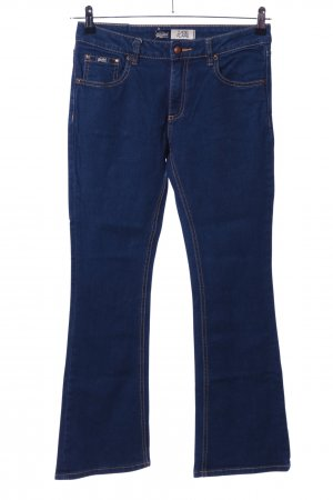 Superdry Boot Cut Jeans blau Casual-Look