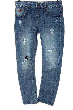 Superdry Jeans boyfriend blu stile casual