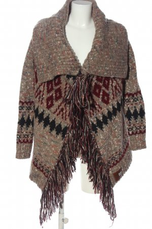 Superdry Cardigan grafisches Muster Casual-Look
