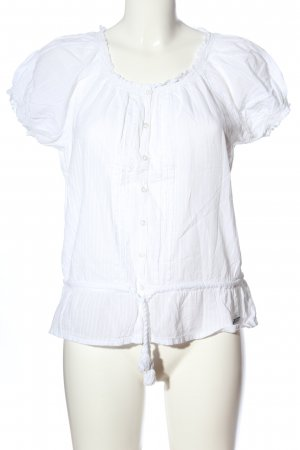 Superdry Carmen blouse wit casual uitstraling