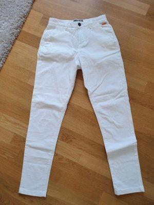 Superdry Chino in Weiß
