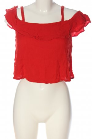 Superdry Cropped Top rot Casual-Look