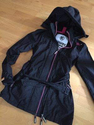 Superdry Damen Jacke schwarz S 36