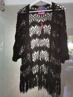 Superdry Haut en crochet noir