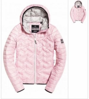Superdry Down Jacket pink