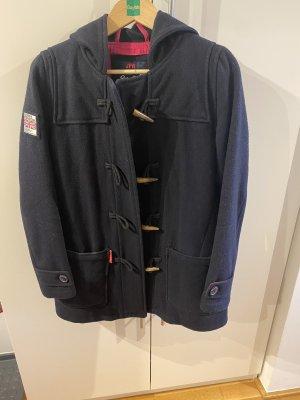 Superdry Duffel Coat blue-dark blue
