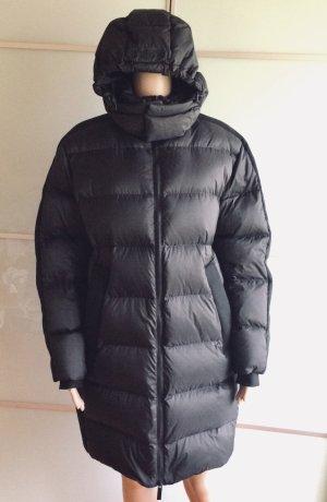 Superdry Płaszcz puchowy czarny Nylon