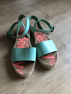 Superdry Espadrille Sandals turquoise
