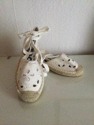 Superdry Espadrille sandalen wit