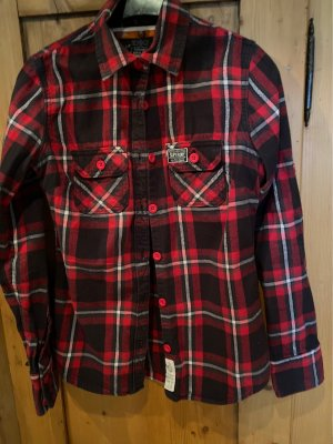 SUPER DRY Flannel Shirt multicolored