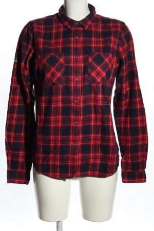 Superdry Flannel Shirt red-black allover print casual look