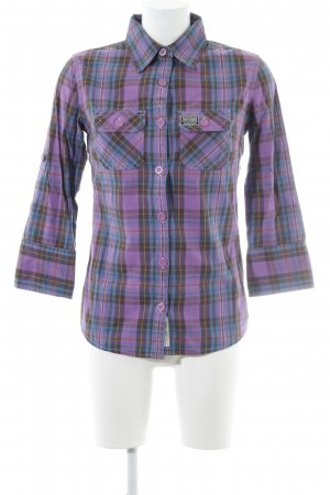 Superdry Flannel Shirt check pattern casual look