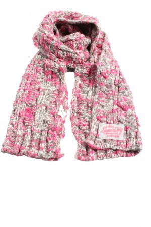 Superdry Crochet Scarf cable stitch casual look