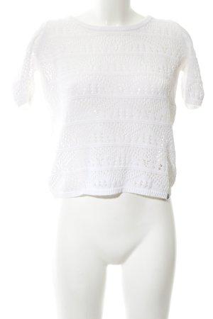 Superdry Gehaakt shirt wit casual uitstraling
