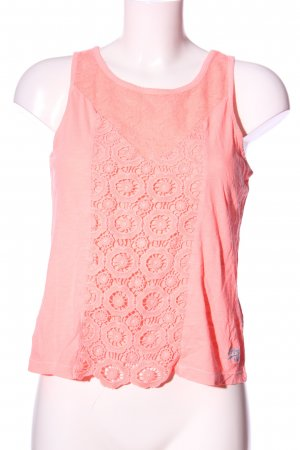 Superdry Basic Top pink Casual-Look