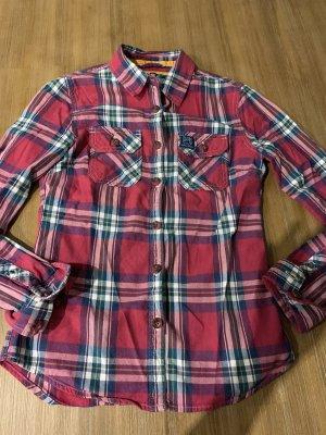 Superdry Hemd Bluse Damen Gr.XS