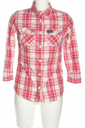 Superdry Hemd-Bluse Allover-Druck Casual-Look