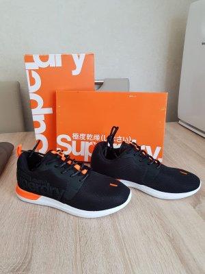 Superdry Herren Sneaker schwarz orange