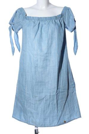 Superdry Hippiekleid blau meliert Casual-Look