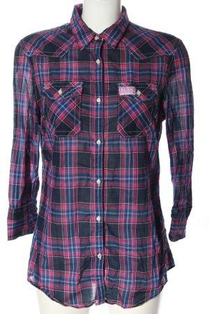 Superdry Camicia da boscaiolo motivo a quadri stile casual