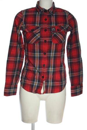 Superdry Camicia da boscaiolo stampa integrale stile casual